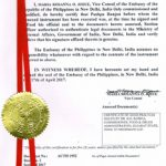 Agreement Attestation for Philippines in Dharmavaram, Agreement Legalization for Philippines , Birth Certificate Attestation for Philippines in Dharmavaram, Birth Certificate legalization for Philippines in Dharmavaram, Board of Resolution Attestation for Philippines in Dharmavaram, certificate Attestation agent for Philippines in Dharmavaram, Certificate of Origin Attestation for Philippines in Dharmavaram, Certificate of Origin Legalization for Philippines in Dharmavaram, Commercial Document Attestation for Philippines in Dharmavaram, Commercial Document Legalization for Philippines in Dharmavaram, Degree certificate Attestation for Philippines in Dharmavaram, Degree Certificate legalization for Philippines in Dharmavaram, Birth certificate Attestation for Philippines , Diploma Certificate Attestation for Philippines in Dharmavaram, Engineering Certificate Attestation for Philippines , Experience Certificate Attestation for Philippines in Dharmavaram, Export documents Attestation for Philippines in Dharmavaram, Export documents Legalization for Philippines in Dharmavaram, Free Sale Certificate Attestation for Philippines in Dharmavaram, GMP Certificate Attestation for Philippines in Dharmavaram, HSC Certificate Attestation for Philippines in Dharmavaram, Invoice Attestation for Philippines in Dharmavaram, Invoice Legalization for Philippines in Dharmavaram, marriage certificate Attestation for Philippines , Marriage Certificate Attestation for Philippines in Dharmavaram, Dharmavaram issued Marriage Certificate legalization for Philippines , Medical Certificate Attestation for Philippines , NOC Affidavit Attestation for Philippines in Dharmavaram, Packing List Attestation for Philippines in Dharmavaram, Packing List Legalization for Philippines in Dharmavaram, PCC Attestation for Philippines in Dharmavaram, POA Attestation for Philippines in Dharmavaram, Police Clearance Certificate Attestation for Philippines in Dharmavaram, Power of Attorney Attestation for Phili
